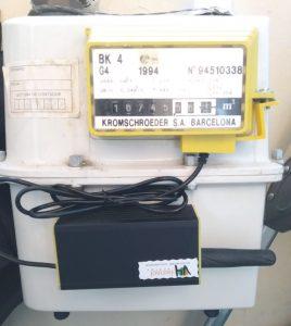 Equipo medidor de gas