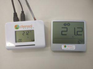 Sensor de temperatura y humedad. Sistema de control