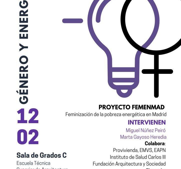 CONFERENCIA GÉNERO Y ENERGÍA